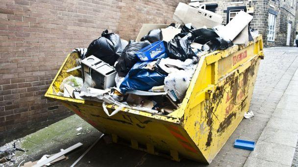 Veľkoobjemový odpad - kontajnery