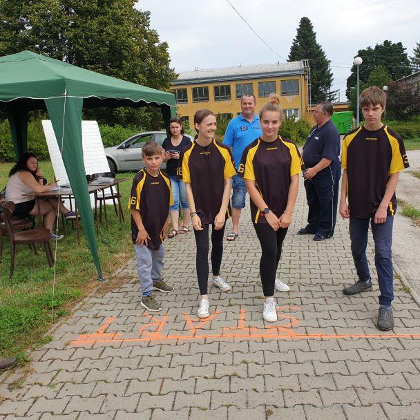 Branný pretek mladých hasičov - Lužianky 22.06.2019