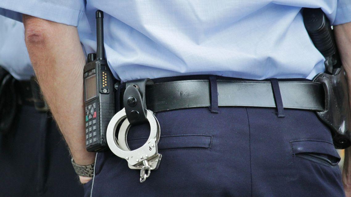 Upozornenie polície